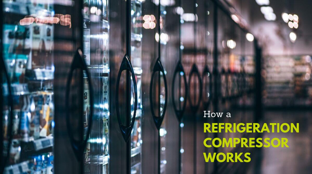 How A Refrigeration Compressor Works
