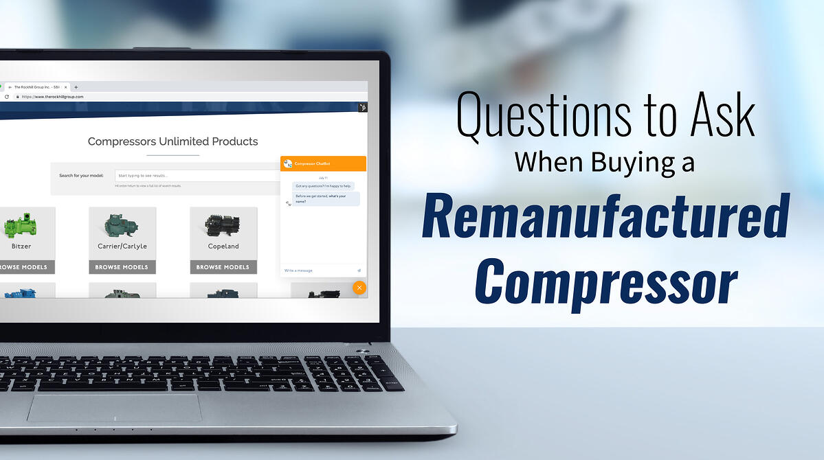 Questions to Ask When Buying Remanufactured Compressors