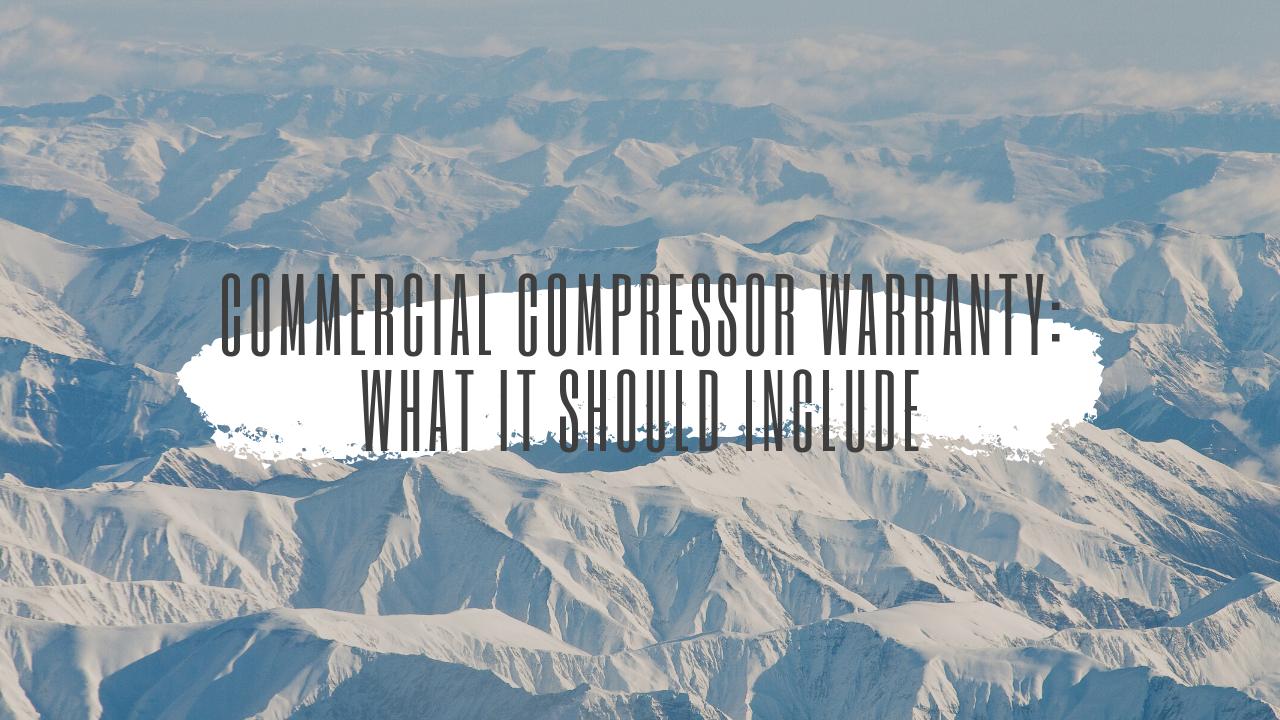 commercial compressor warranty