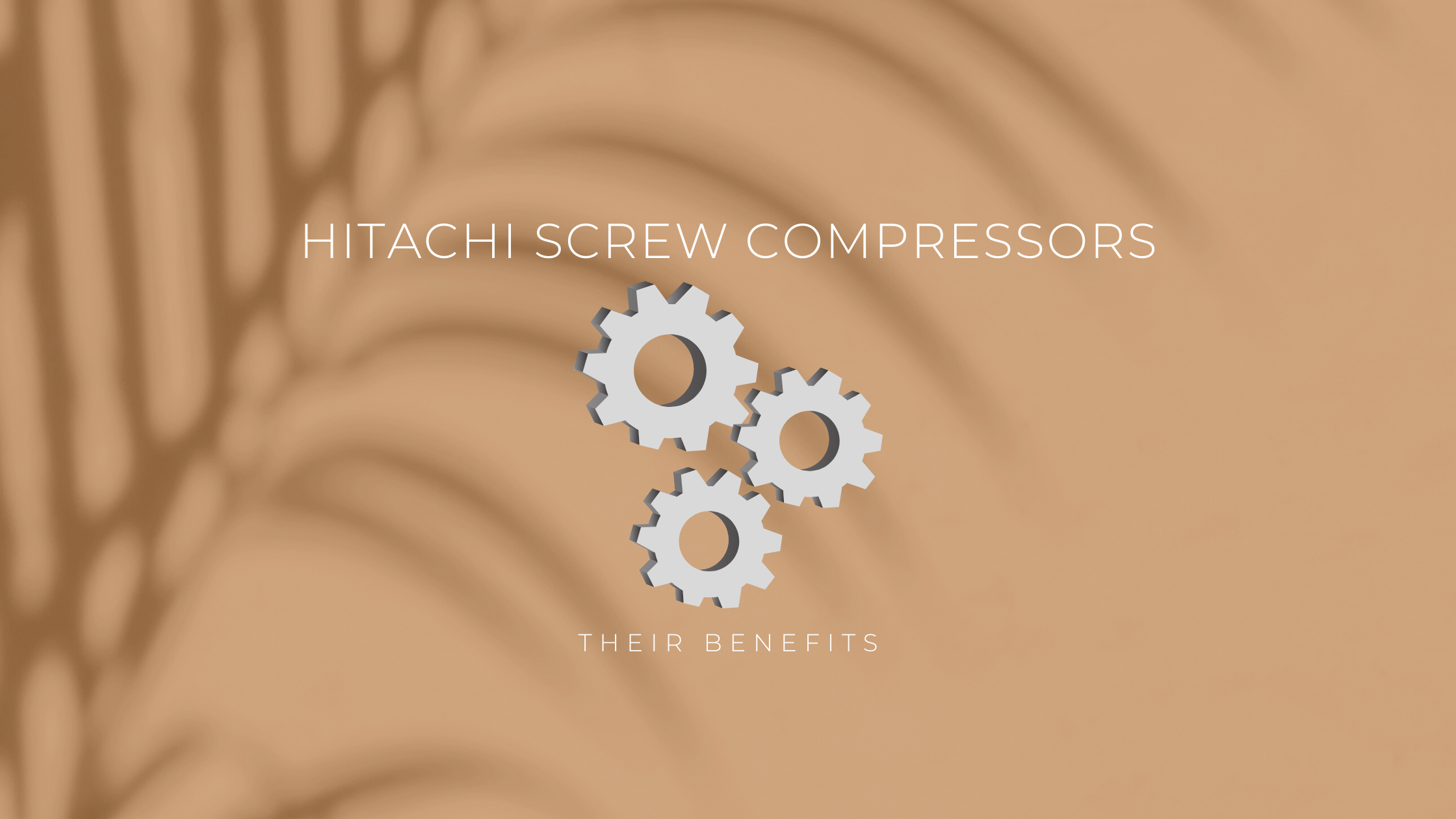 Hitachi Screw Compressor