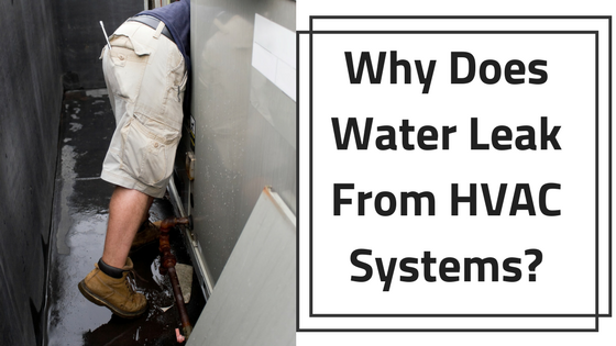 Water leak hvac systems