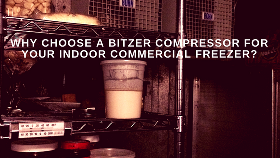 bitzer compressor commercial freezer